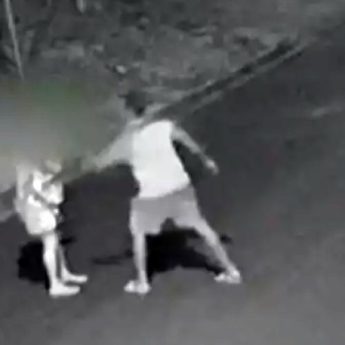 Candidato a vereador é flagrado agredindo namorada na rua; vídeo!