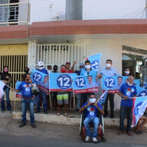 A menos de um mês para as eleições municipais, Gláuber Silva tem semana intensa de ações em sua campanha