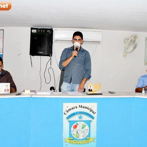 Câmara de Vila Nova do Piauí aprova três projetos de leis