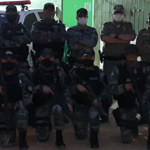 Comandante do CPSA visita Marcolândia e Vila Nova e repassa diretrizes de operação durante eleições