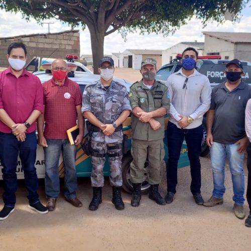 Comando da 4ª Companhia da PM reúne representantes partidários e formaliza TAC em Marcolândia