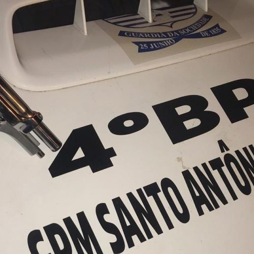 Homem é preso em Santo Antônio de Lisboa por porte ilegal de arma de fogo