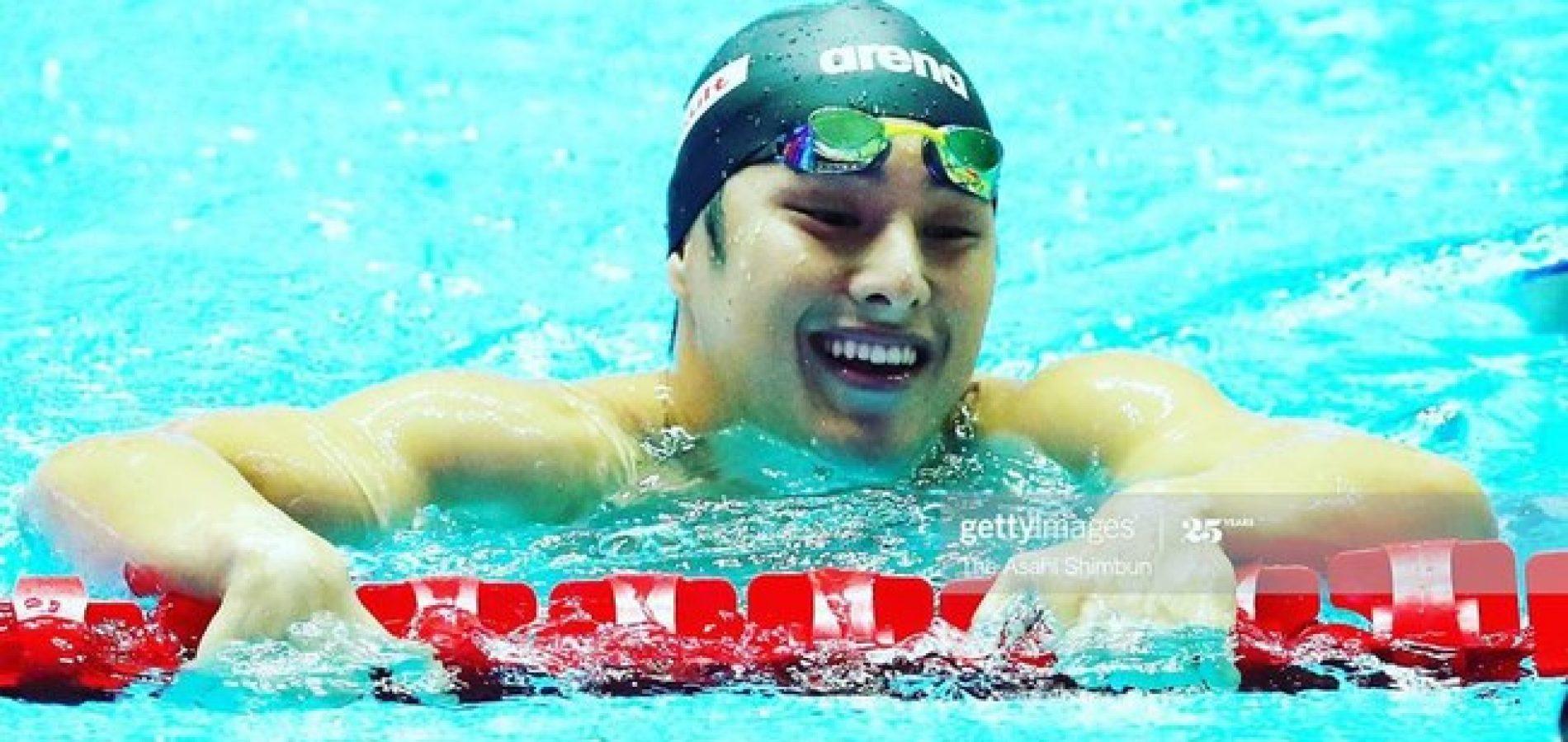 Nadador japonês campeão mundial é suspenso até o fim do ano por trair a esposa