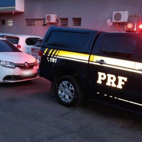 Homens suspeitos de assaltos em Teresina são detidos pela PRF na rodovia BR-316