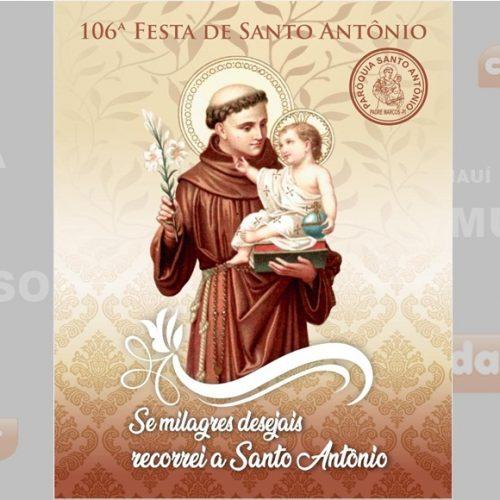 PADRE MARCOS | 106ª Festa de Santo Antônio inicia dia 24 de outubro; veja programação!