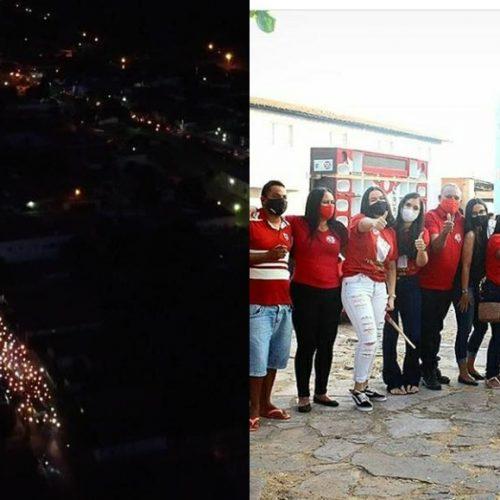 Carreata histórica marca a campanha de Elvis Ramos à Prefeitura de Ipiranga do Piauí