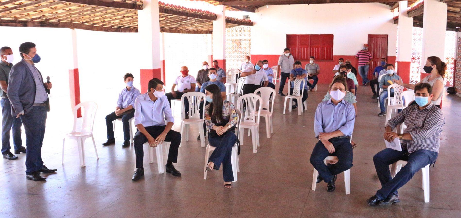 PADRE MARCOS   Promotor e representantes de coligações e partidos debatem sobre as eleições em cinco municípios