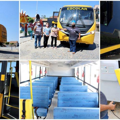 Educação de Pio IX recebe ônibus 0 KM e reforça frota de veículos