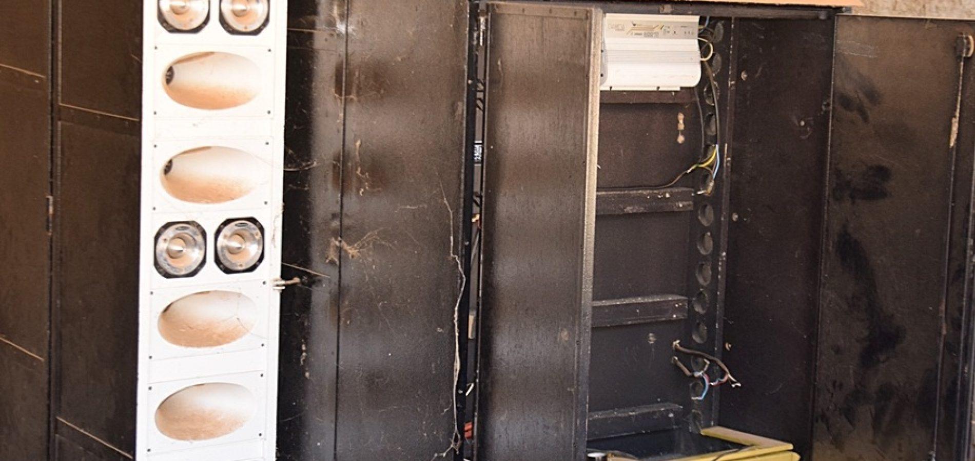 Equipamentos de paredão de som avaliados em 6 mil reais são furtados em Paulistana