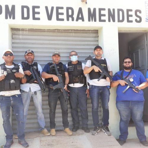 Em operação integrada, PM do Piauí e PC do Pernambuco prendem homicida em Vera Mendes