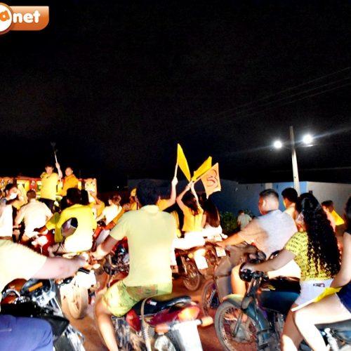 Carreata e caminhada fortalecem campanha de Dr. Samuel e Dr. Leonardo em São Julião; fotos