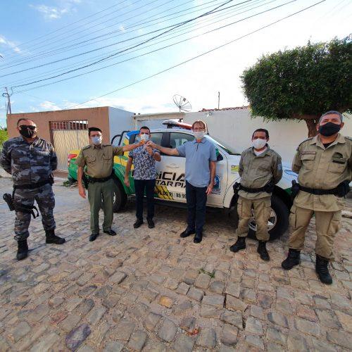 Massapê do Piauí recebe nova viatura para a Polícia Militar