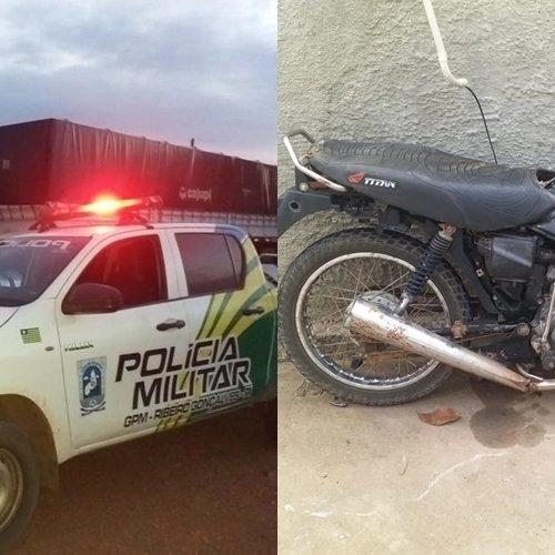 Grave colisão entre motocicleta e carreta deixa dois mortos na PI-247