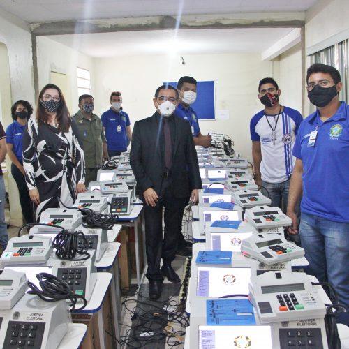 Zona Eleitoral de Jaicós realiza audiência de lacre das urnas para as eleições municipais