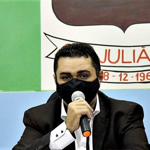 Câmara de São Julião aprova requerimentos e absolve o vereador Renaldinho; fotos