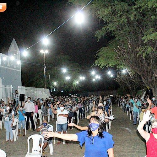 Em São Julião, novena e missa marcam abertura do 147º festejo de Nossa Senhora da Conceição; fotos