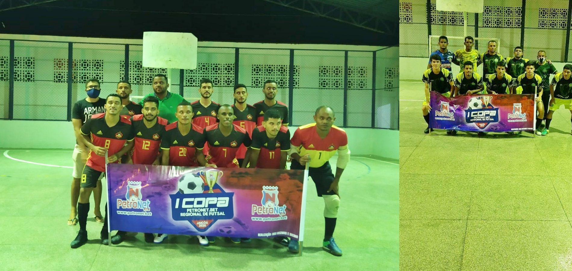 JAICÓS | Chapecoense e Borracharia Santin se classificam para as semifinais da Copa Petronet Bet de Futsal