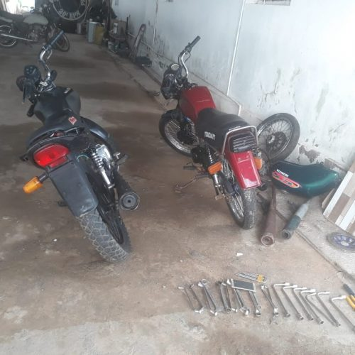 Polícia Militar recupera motocicleta furtada da Ciretran de Paulistana