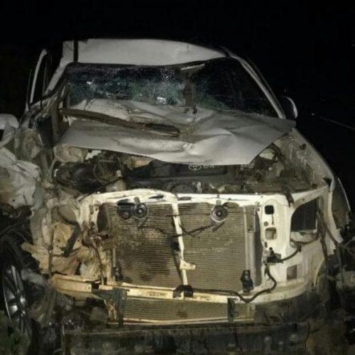Vereador da cidade deAcauã sofre grave acidente na BR 407