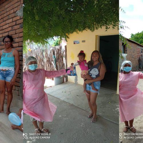 MASSAPÊ | Secretaria de Assistência Social faz entrega de kits para famílias assistidas pelo programa Criança Feliz
