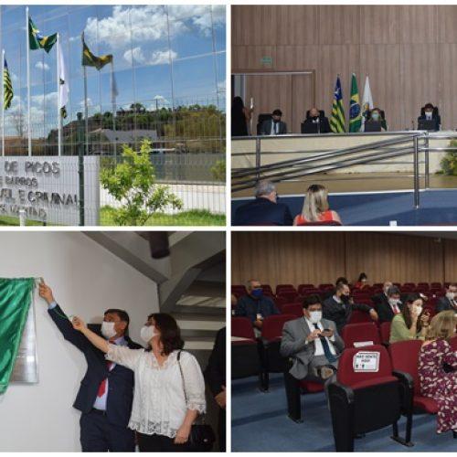 Novo prédio do Fórum e Juizado Especial Cível e Criminal da Comarca de Picos é inaugurado