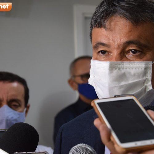 """""""Estamos muito perto da vacina"""", diz governador Wellington Dias ao pedir cautela"""