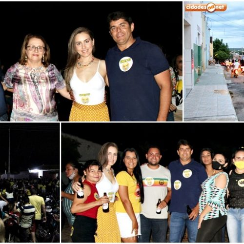 SÃO JULIÃO | Grupo político de Dr. Samuel e Dr. Leonardo promove carreata da vitória; veja fotos