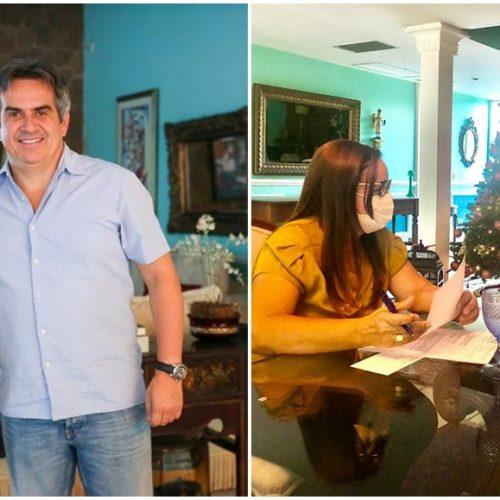SANTANA   Prefeita Maria José tem audiência com o senador Ciro Nogueira e busca obras importantes. Veja!