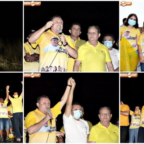 Grupo político de Edilson e Belim promove carreata da vitória em Vila Nova do Piauí; veja fotos