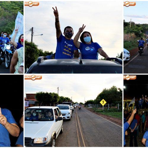 Maria e Neli celebram vitória com carreata e reafirmam continuar trabalhando por Santana do Piauí; fotos
