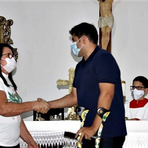 Em São Julião, padre Ramires reúne candidatos de situação e oposição em missa e pede respeito e tolerância; fotos