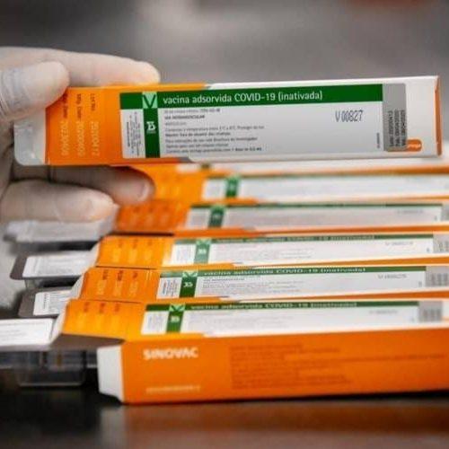 Mais 64 mil doses da coronavac chegam ao PI nesta quarta-feira