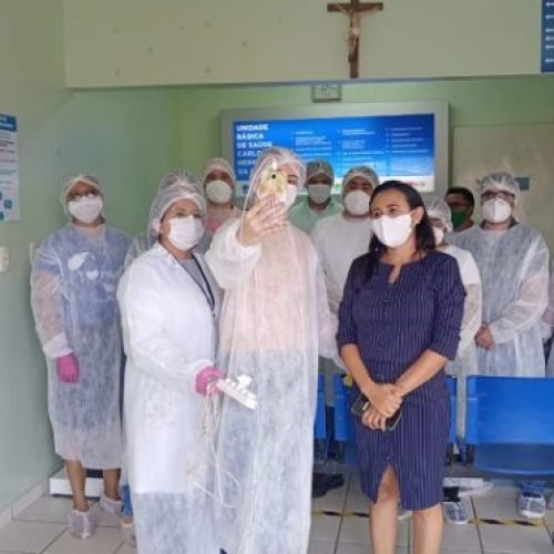 MP realiza inspeções virtuais em Unidades Básicas de Saúde de Vera Mendes e Isaías Coelho