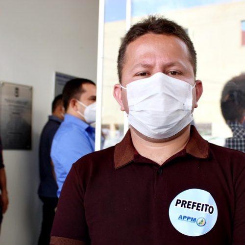 Eleito prefeito de Francisco Macedo, Novinho participa de evento da APPM em Picos