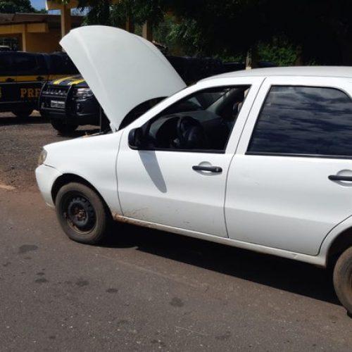 PRF apreende veículo adulterado em Picos e prende homem pela 2ª vez por receptação e uso de documento falso