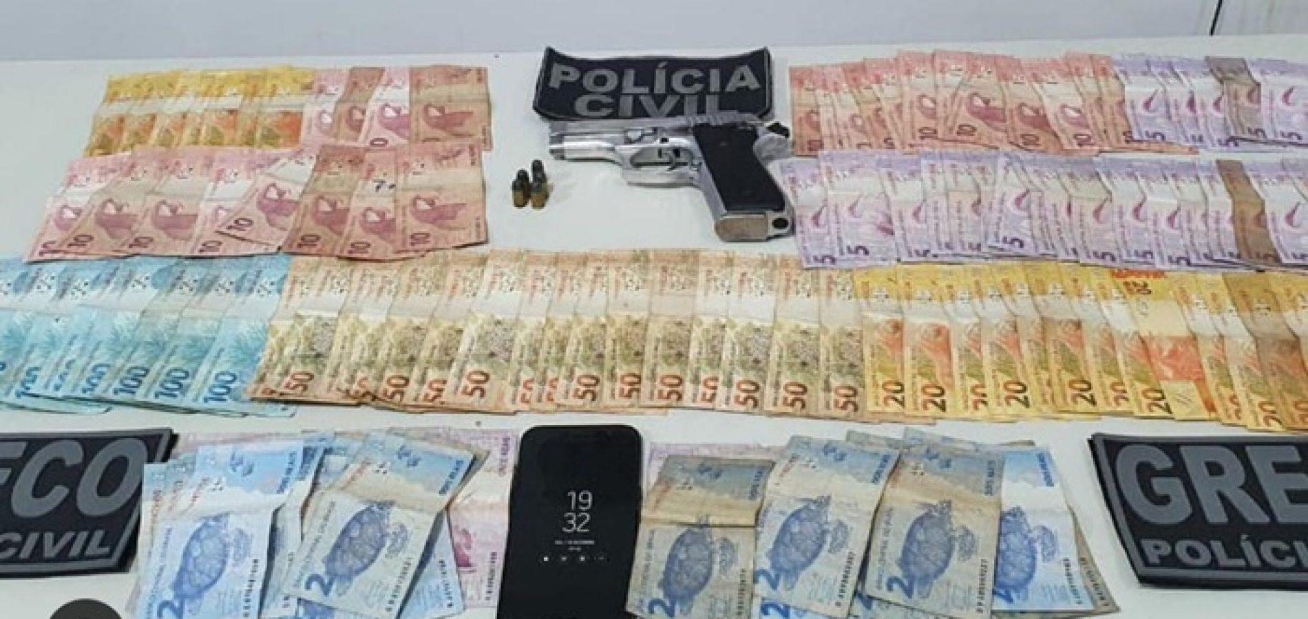 Greco prende cinco acusados de roubos a bancos no Piauí