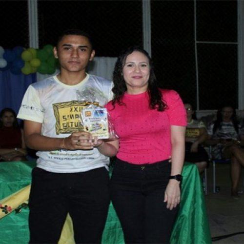 Aluno e professora de São Julião serão premiados pela Câmara dos Deputados