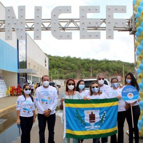 Fronteiras recebe pela 4ª vez o certificado do Selo Unicef Município Aprovado. Veja fotos!