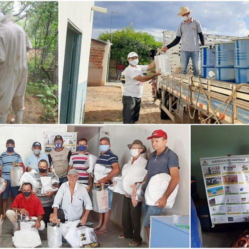 MASSAPÊ | Associação de Apicultores produziu 20.756 kg de mel em 2020, injetando cerca de R$ 130 mil na economia local