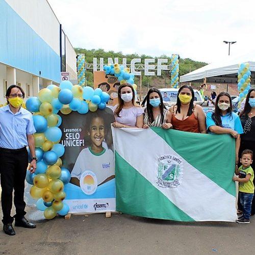 Francisco Santos é contemplado pela segunda vez com certificação do Selo Unicef; fotos