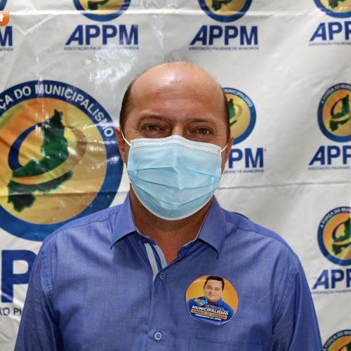 Em Picos, prefeito eleito em Acauã, participa de evento da APPM