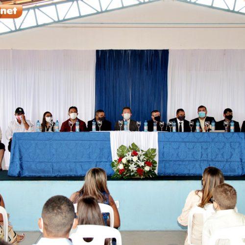Eleito prefeito de Francisco Macedo, Novinho toma posse e garante trabalhar pelo progresso; fotos