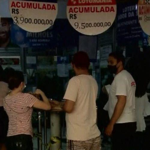 Teresina tem lotéricas lotadas para Mega da Virada com prêmio de R$ 300 milhões