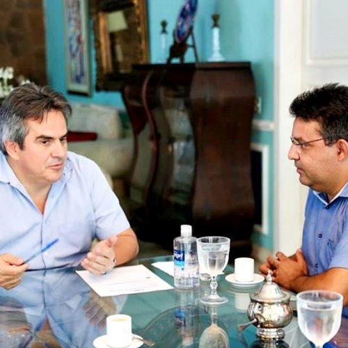Dr. Corinto se reúne com Ciro Nogueira e trata de adutora de água do Estreito para Marcolândia