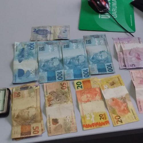 Polícia Militar de Acauã prende em flagrante homem por furtar dinheiro em residência