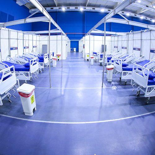 Preocupado com festas de fim de ano COE decide manter hospitais de campanha