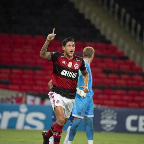Flamengo vira contra Bahia e assume como vice-líder, a cinco pontos do São Paulo