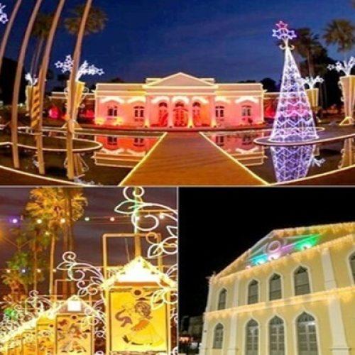 Governo lança 'Natal de Sonho e Luz' com decoração no Centro de Teresina; veja fotos