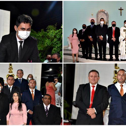 Empossado para seu 2º mandato, vereador Flávio Sousa é reeleito presidente da Câmara de Vila Nova do Piauí; fotos