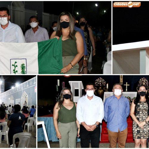Noite dos poderes celebra 4ª novena e missa no 147º festejo de N. S. da Conceição em São Julião; fotos
